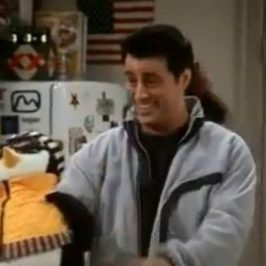 Someone is making stuffed animals of Huggsy the Penguin from Friends and it's awesome