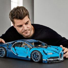 LEGO introduced the most advanced Technic set ever - the Bugatti Chiron