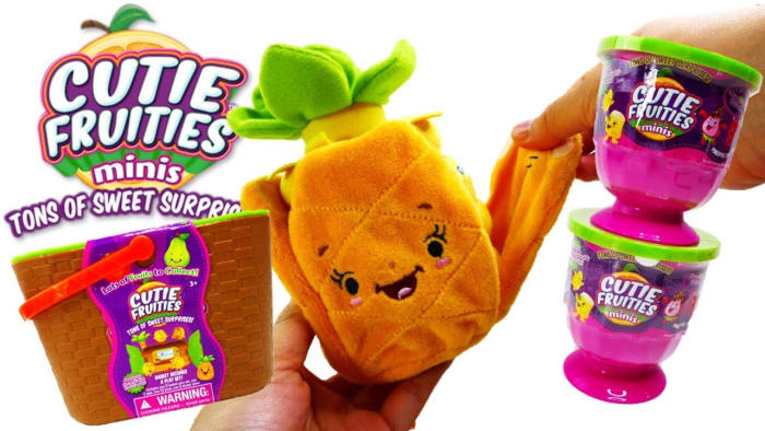Cutie Fruities plush toys make a successful US debut