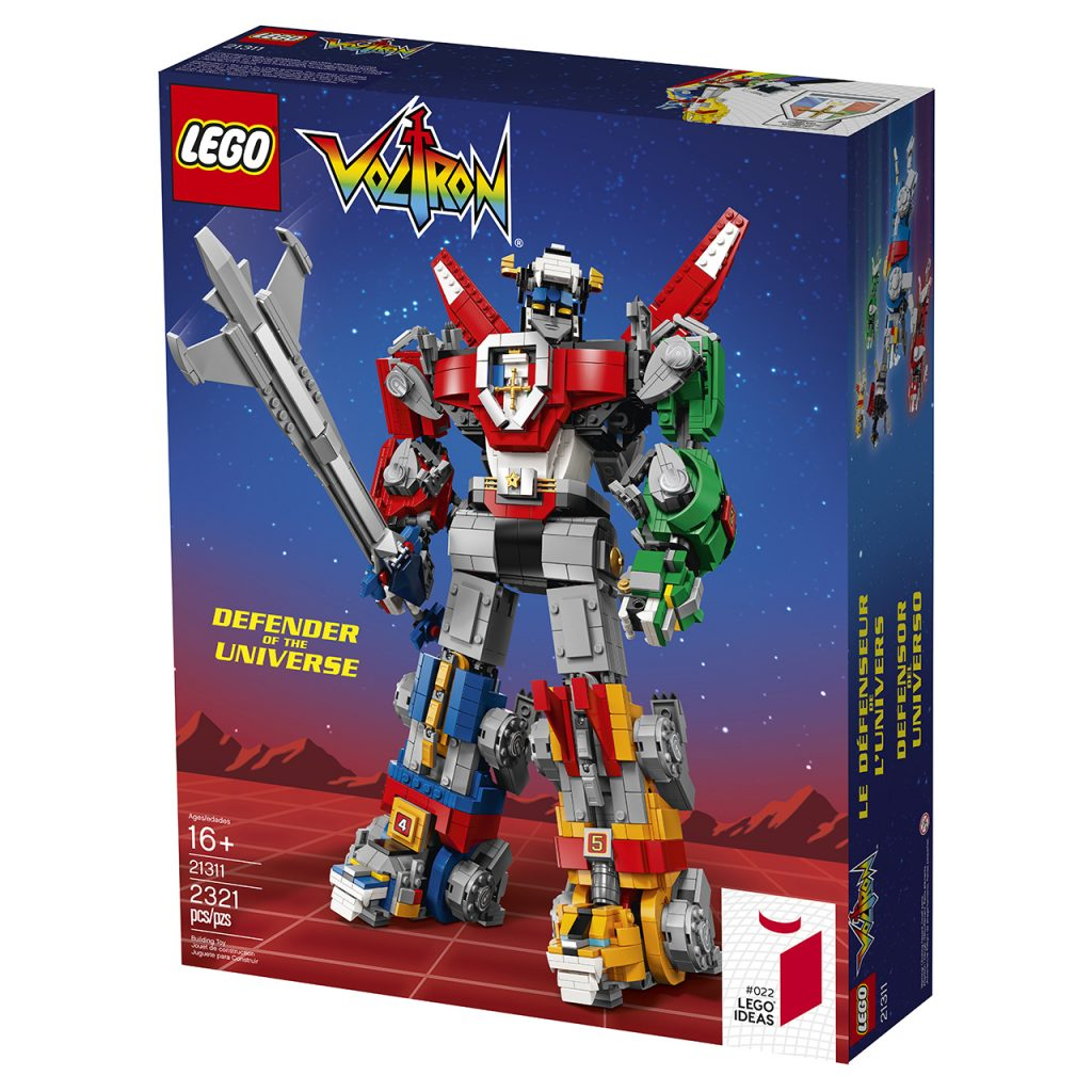 LEGO debuts a giant Voltron playset for the 2018 San Diego Comic-Con