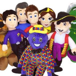 The new plush Wiggles come to Barnes & Noble