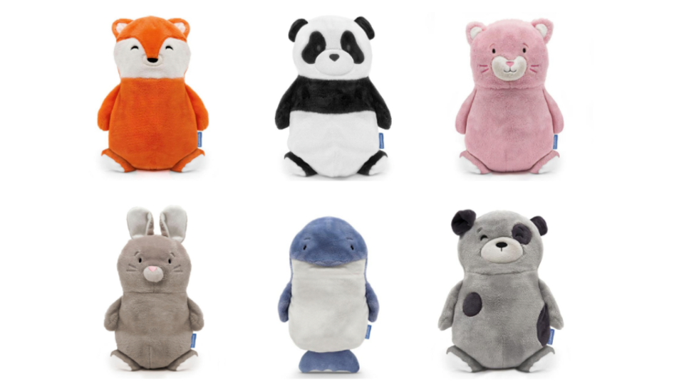 The Cubcoats stuffed animals turn into hoodies