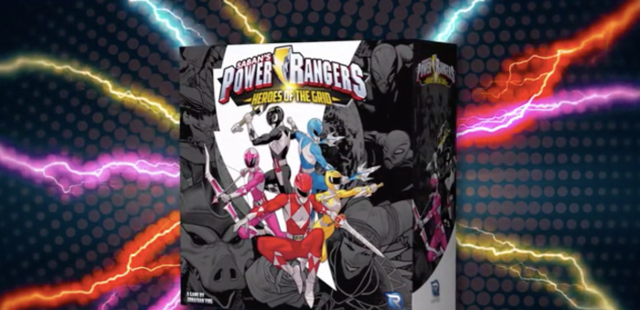 The Power Rangers will come with a new official board game