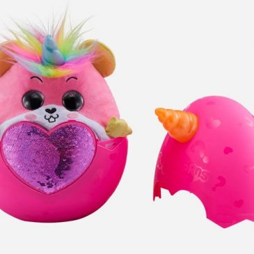Zuru Rainbocorns are new mystery stuffed animals in eggs