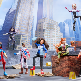 Hasbro and Disney launch a new Marvel Rising line of action figures