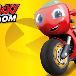 TOMY will make the new Ricky Zoom toys globally
