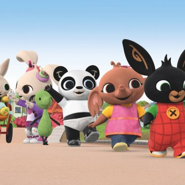 Golden Bear will be the master toy partner for the Bing animated series