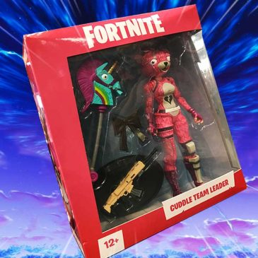 The first Fortnite action figures made their debut at the New York Comic Con