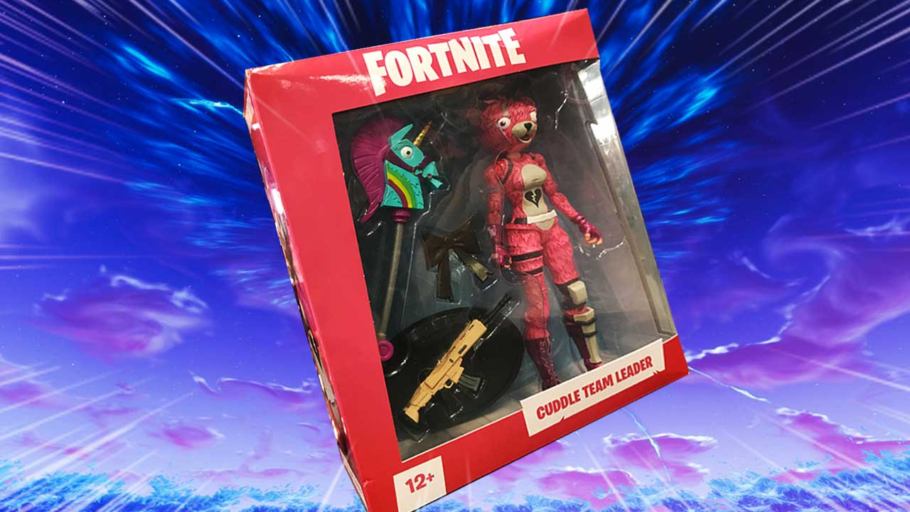 Fortnite Con the first fortnite action figures made their debut at the