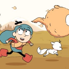 Hilda is a new Netflix series which hopes to become a toy success