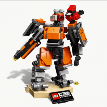 LEGO is preparing a new Overwatch Bastion set