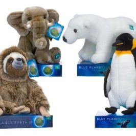 Posh Paws will make stuffed animals for BBC's Blue Planet and Planet Earth