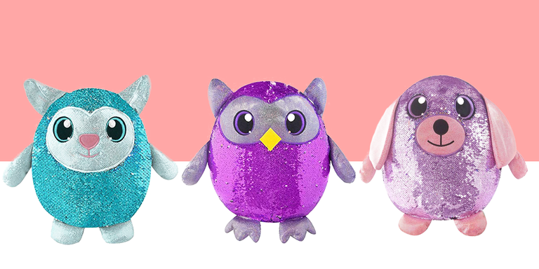 Meet the Shimmeez sparkling plushies which are coming for the holidays
