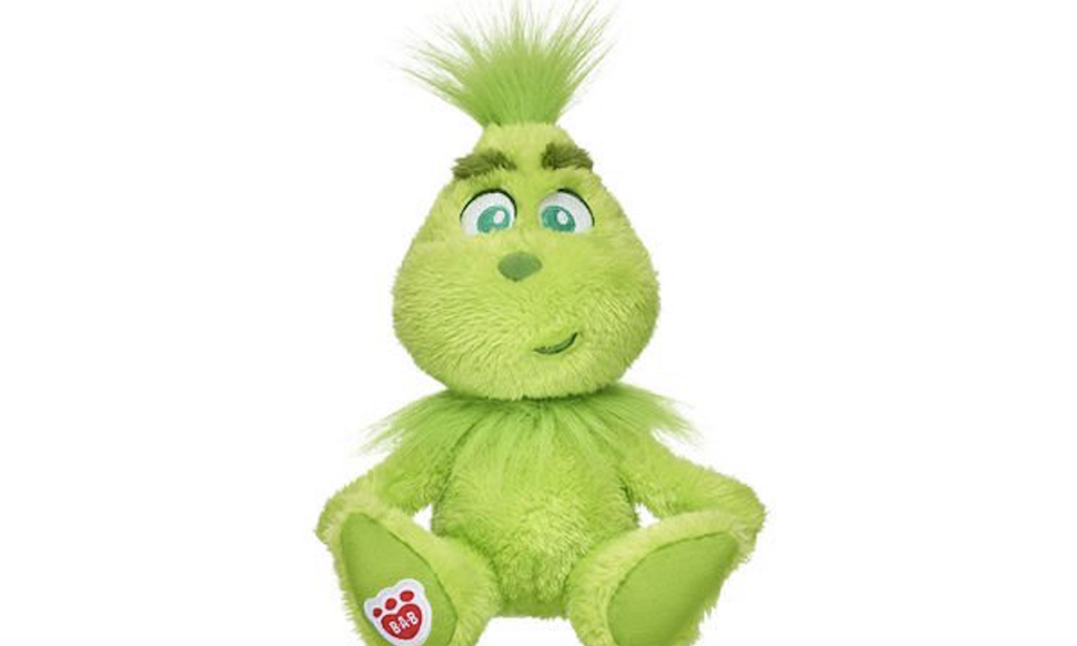 Build-A-Bear introduces a whole line of Grinch plushies