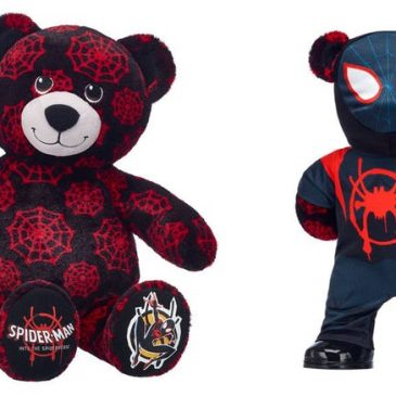 Build-A-Bear goes Into the Spider-Verse with new costumes