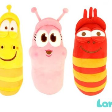 YouTube's LARVA plush characters are coming to the UK