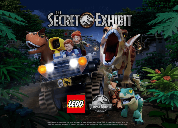 LEGO and Universal will premiere a Jurassic World animated special