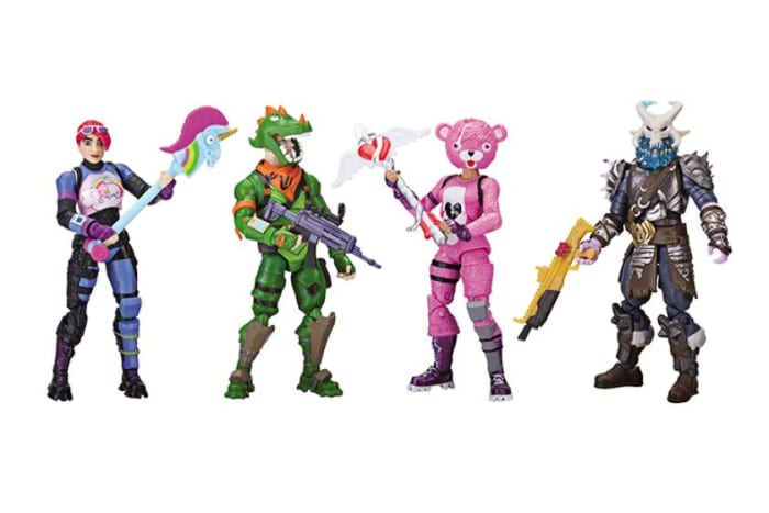 The first Fortnite toys make their way to stores