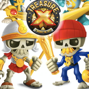 Treasure X has big toy plans for its characters