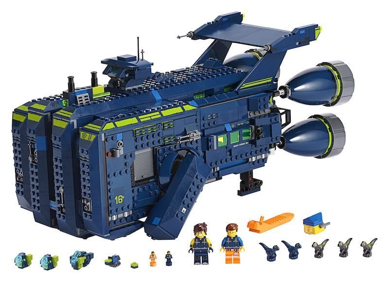 LEGO releases a massive playset ship from the LEGO Movie 2