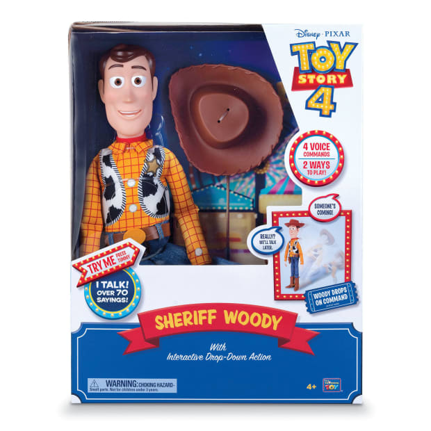 New Toy Story 4 action figures introduce interesting interactive features