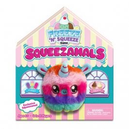 Squeezamals come to try and compete with the Hatchimals
