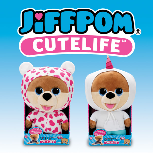Jiffpom Cutelife collectible plushies are coming to the UK