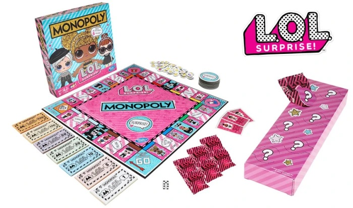 Hasbro releases a special LOL Surprise Monopoly
