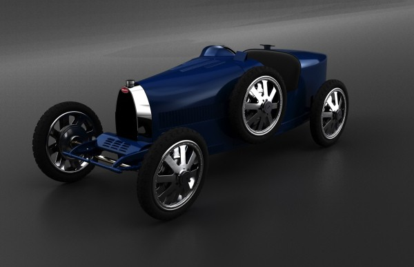 Bugatti shows off one of the most expensive toys ever