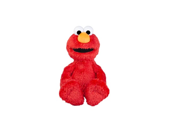 Hasbro introduces a new plush Elmo who gives out hugs