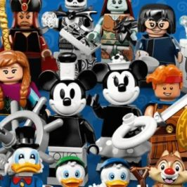 LEGO reveals a new line of Disney minifigures