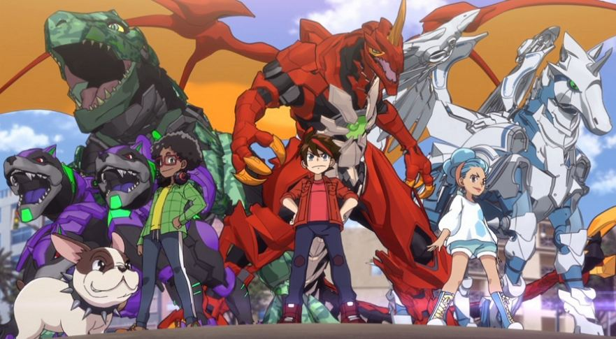 Spin Master and Ikon are bringing back Bakugan