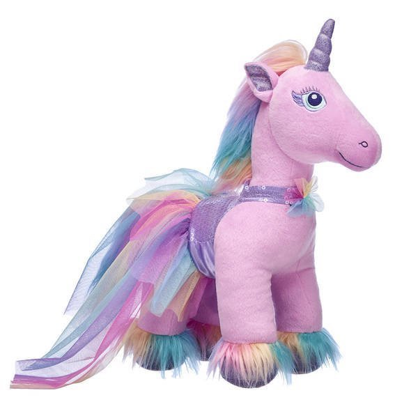 Build-A-Bear introduces a cute plush unicorn for the National Unicorn Day