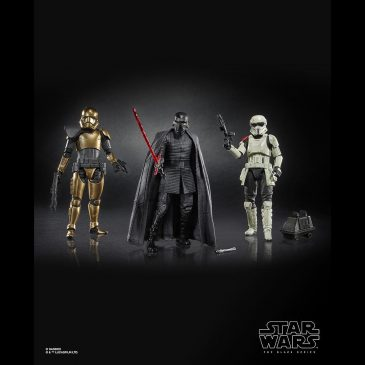 Hasbro released the official images for its new Star Wars action figures for 2019