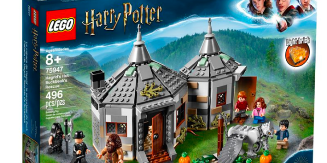 LEGO introduces new Harry Potter playsets