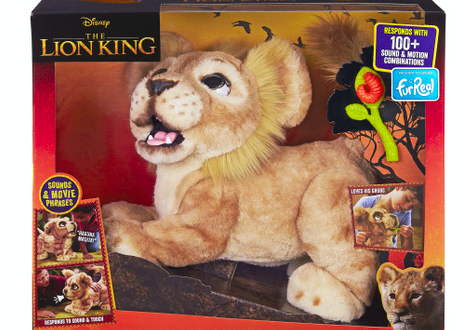 Hasbro introduces new The Lion King stuffed animals
