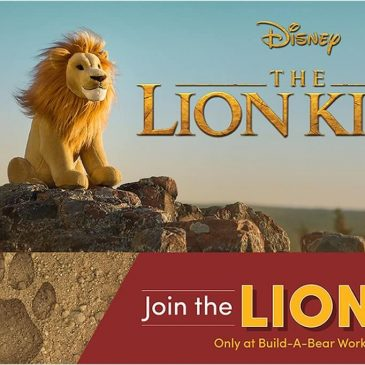 Build-A-Bear introduces new Lion King stuffed animals