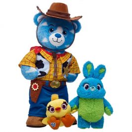 Build-A-Bear introduces its new Toy Story 4 stuffed animals