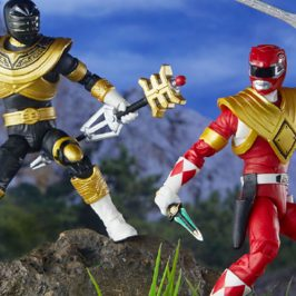 Hasbro introduces new Power Rangers action figures for the San Diego Comic-Con