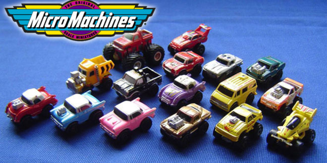 Hasbro is bringing back Micro Machines with a new partner