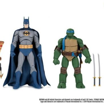Batman vs Teenage Mutant Ninja Turtles action figures are coming this fall