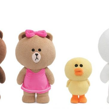 GUND unveils its new Line Friends stuffed animals