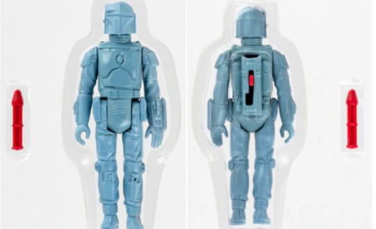 Star Wars action figure sets a world record for most expensive toy