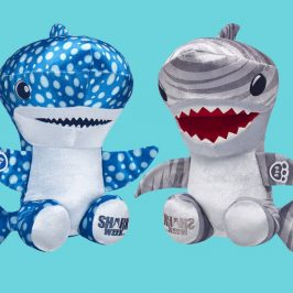 Build-A-Bear introduces new plush sharks for Shark Week