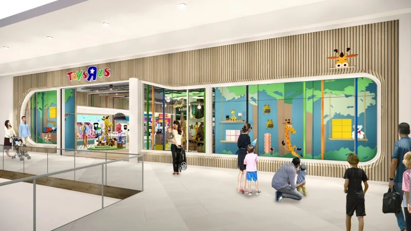 Toys R Us is back with a new site and partnership
