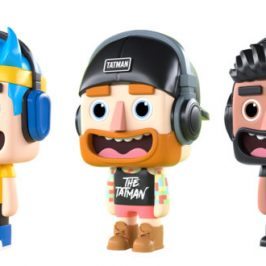 Famous gamers and streamers get their own figures and universe with Wicked Cool Toys
