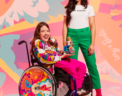 Barbie partners with Izzy Wheels for four limited-edition designs