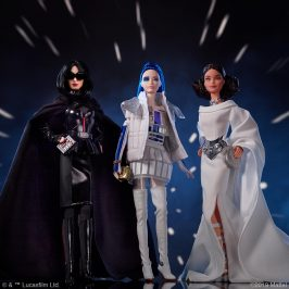 Barbies glams up Star Wars in a new fashion doll collection