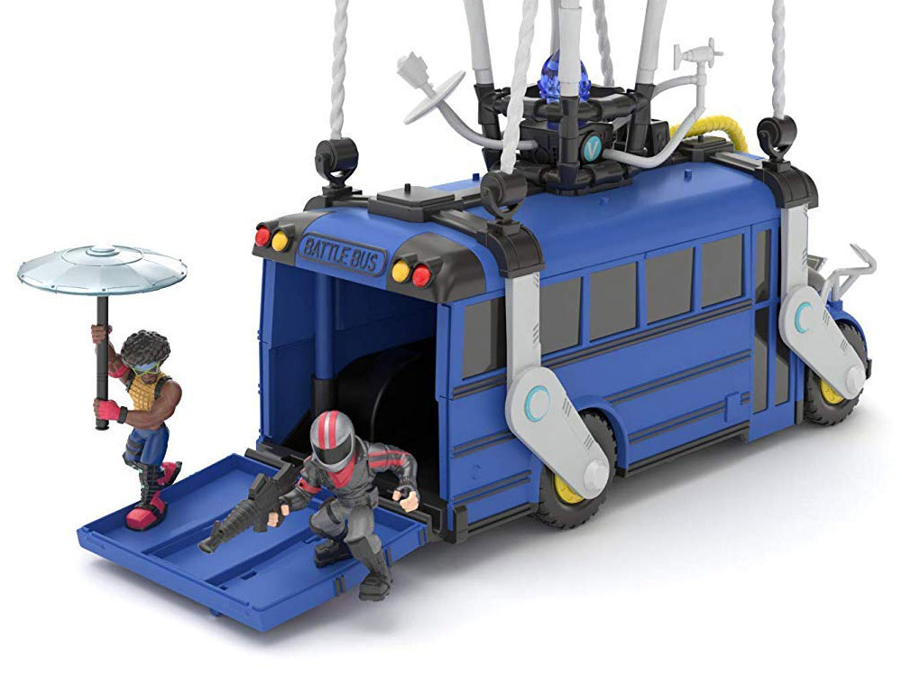Moose Toys released the Fortnite Battle Bus playset