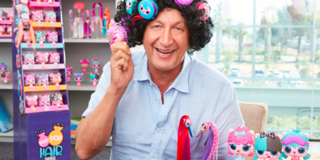MGA's Isaac Larian personally promotes the new Pop Pop Hair Surprise toy line